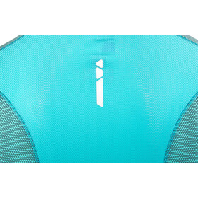 Salomon Trail Runner Hardloopshirt korte mouwen Dames turquoise